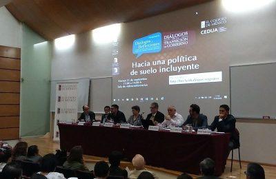 Impulsar política de suelo, prioridad para el próximo gobierno