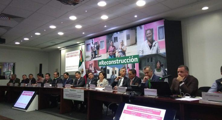Reportan entrega del 96% de apoyos para reconstrucción