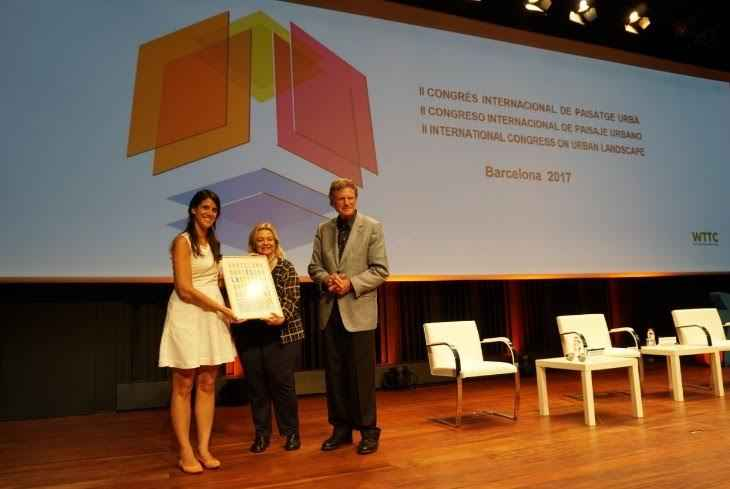 Premian a Rosario en Congreso de Paisaje Urbano