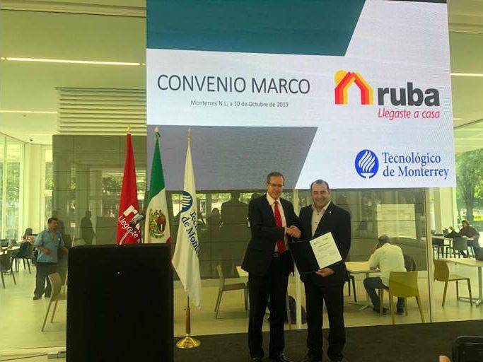 Tec de Monterrey y Ruba buscan mejorar procesos de vivienda