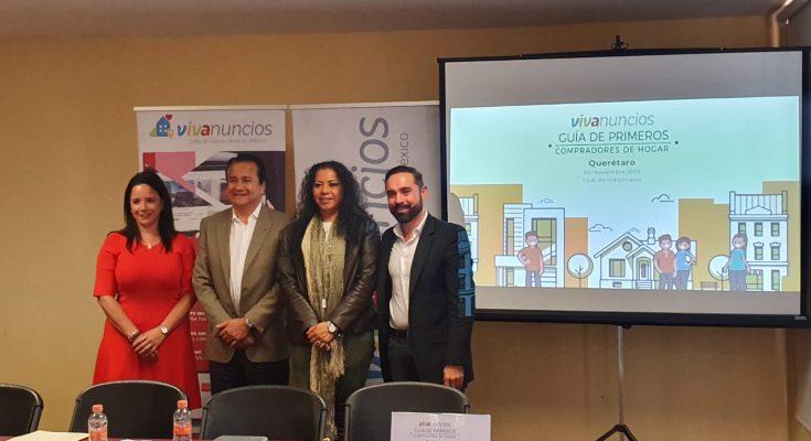 Presentan 'Guía de Primeros Compradores de Hogar' en Querétaro