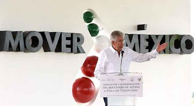 SCT inaugura ampliación y modernización de Boulevard en Hidalgo