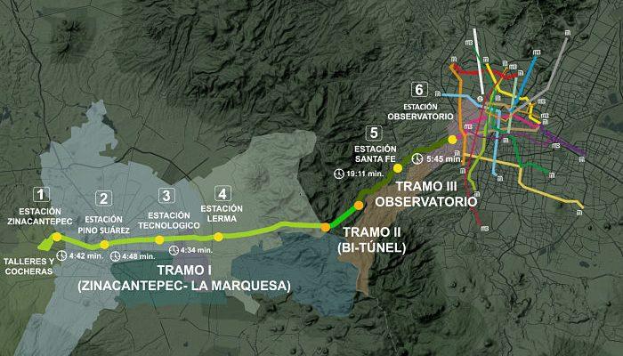 SCT se encargará de finalizar las obras del Tren Interurbano