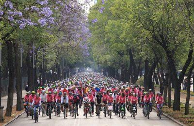 SEMOVI realiza 'Gran Rodada' en la CDMX por Mes de la Bicicleta