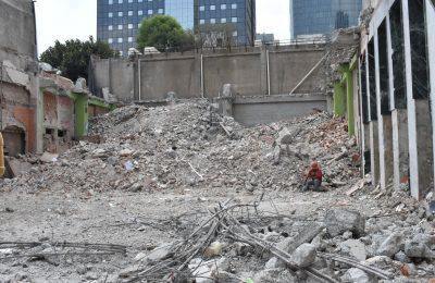 Sobse finaliza demolición de cuatro inmuebles