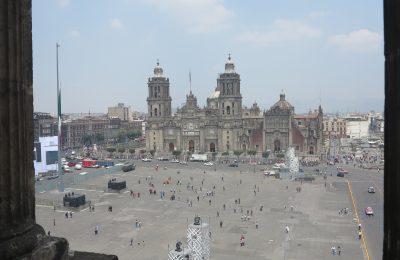 Presentan proyecto para rehabilitar Zócalo