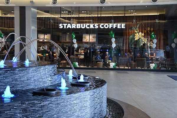 Starbucks presente en todo el país