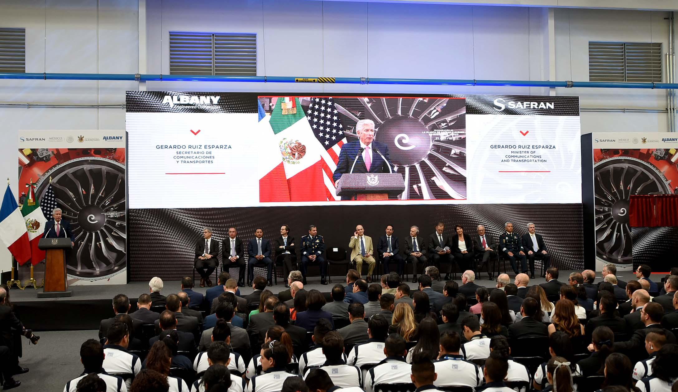 Crecen inversiones aeroespaciales en Querétaro