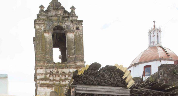 199 iglesias y templos del Edomex presentan afectación en su estructura arquitectónica