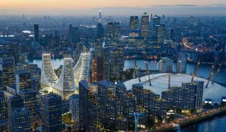 Santiago Calatrava diseña proyecto para transformar la península de Greenwich