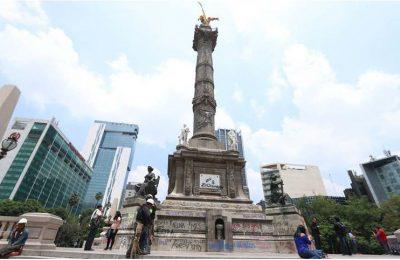 Secretarías de Cultura colaboran para restaurar Ángel de la Independencia