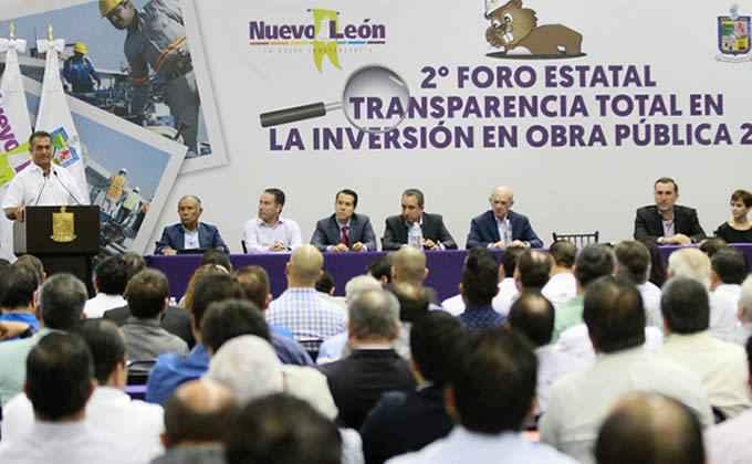 Gobierno del estado invertirá en obra pública en Nuevo León