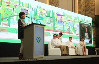 Inauguran congreso internacional de parques urbanos en Yucatán