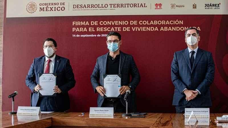 Sedatu e Infonavit van por regeneración urbana en N.L. y Tamaulipas