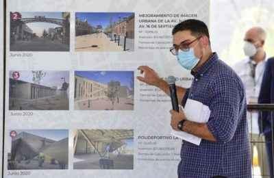 Sedatu entrega seis obras del PMU en Ciudad Juárez