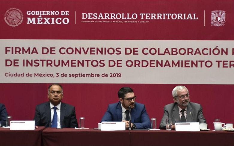 Sedatu y UNAM van contra desigualdad social en centro y sur del país
