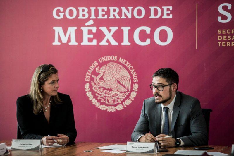 Trabajarán México y Reino Unido en materia de suelo