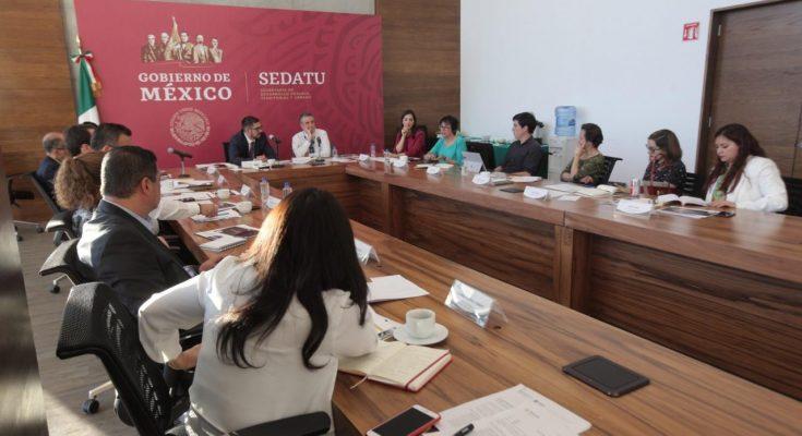 Trabajarán Sedatu e Inegi para mejorar programas de vivienda