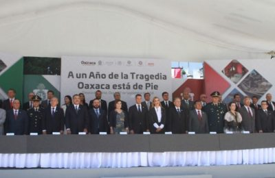 Chiapas y Oaxaca, con 80% de avance en reconstrucción