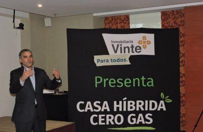 Vinte entregó las primeras casas que no usan gas