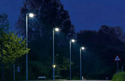 Presentan luminarias LED para alumbrado público