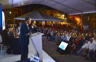 Guanajuato realiza obras de conectividad, educación, salud y desarrollo social.