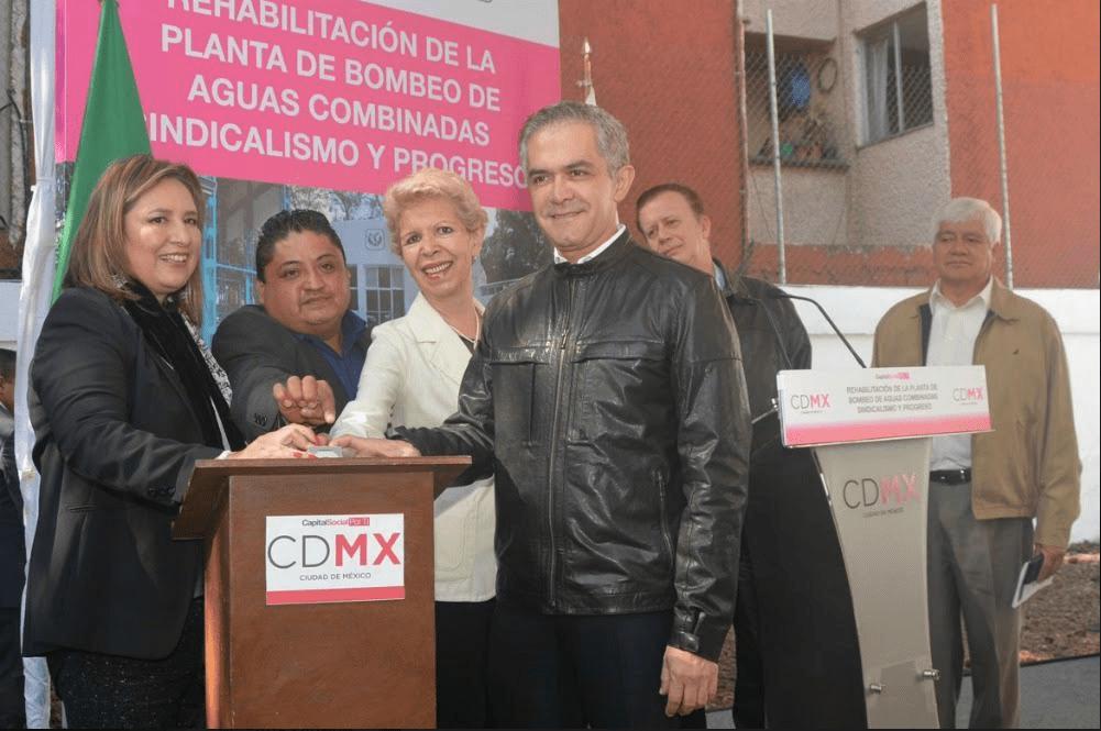 Buscan reforzar infraestructura hidráulica en CDMX
