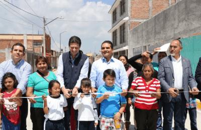Toman acciones de pavimentación con concreto hidráulico en Morelia