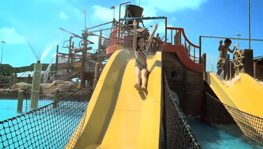 Inauguran parque acuático Six Flags Hurricane Harbor Oaxtepec