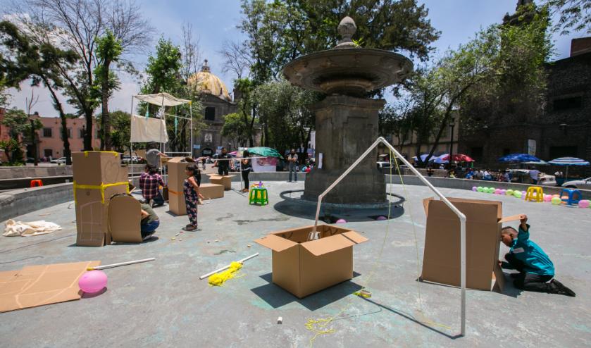 Instalarán Juguetes Urbanos en la CDMX
