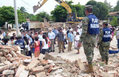 Gobierno ha entregado 8 mmdp en apoyos tras sismos 2017