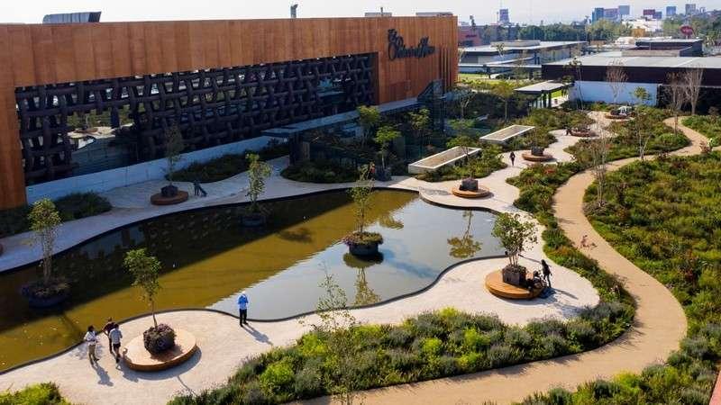 Sordo Madaleno inaugura Parque Plaza Satélite en el Edomex