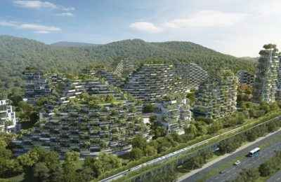 Planean construir Ciudad-Bosque en provincia china