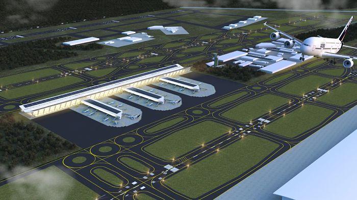 Suben precios de inmobiliario en aeropuerto de Santa Lucía