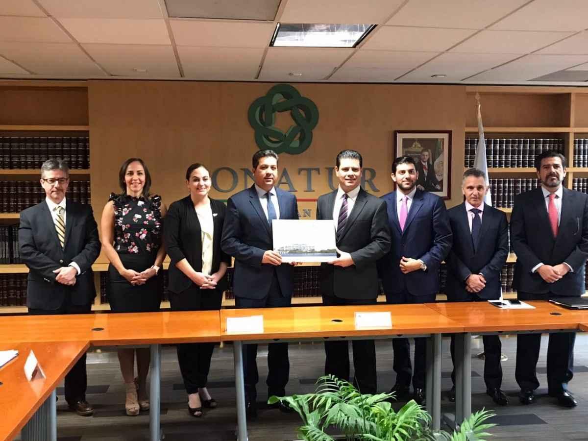Presentan proyecto de parque de playa en Tamaulipas