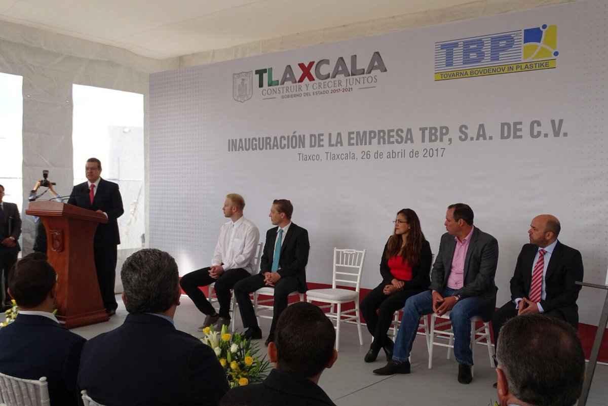 Crece Clúster Automotriz de Tlaxcala con planta eslovena