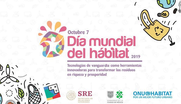 Inician actividades por el Día Mundial del Hábitat 2019