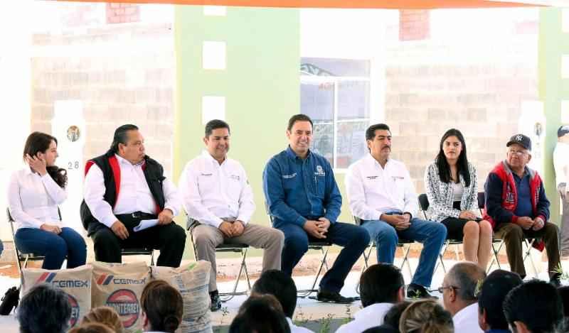 Entregan 12 mdp de apoyos a vivienda en Zacatecas