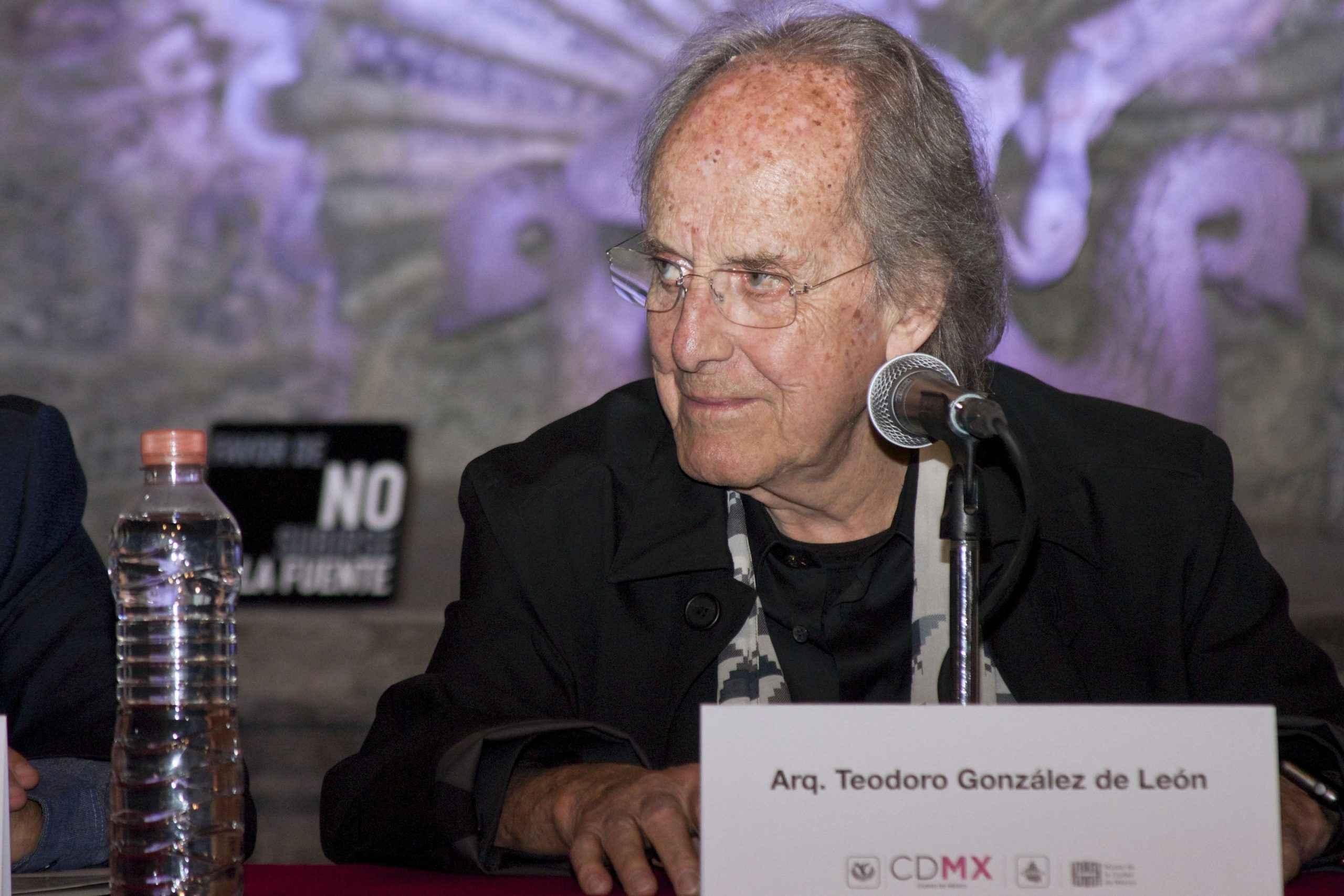 Teodoro González reflexiona sobre la arquitectura y planeación de ciudad