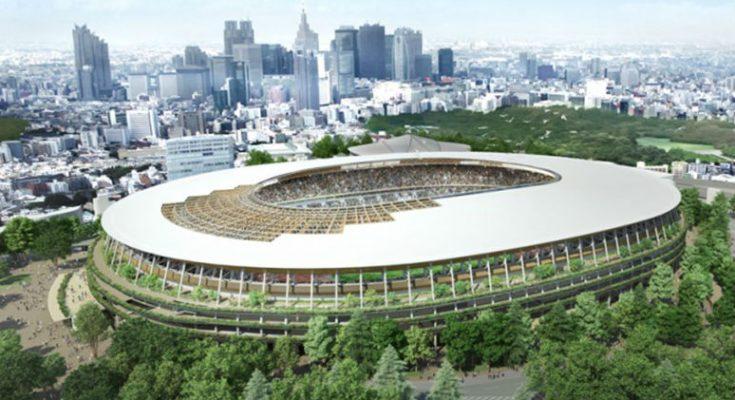 Termina construcción de Estadio Olímpico de Tokio 2020