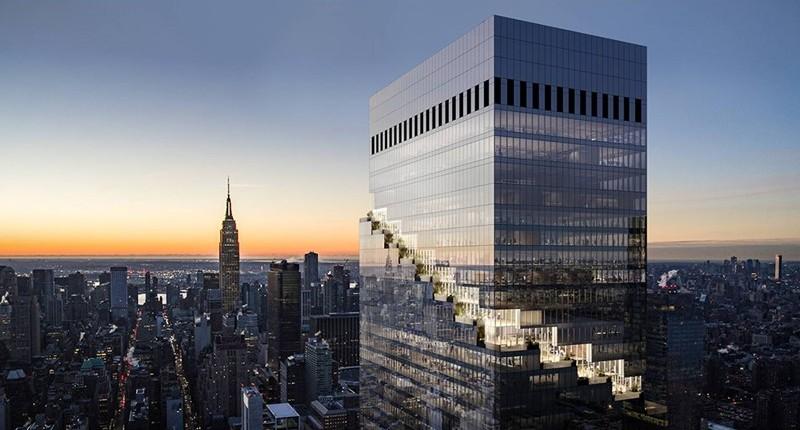 The Spiral, de Bjarke Ingels Group, alcanza su altura máxima
