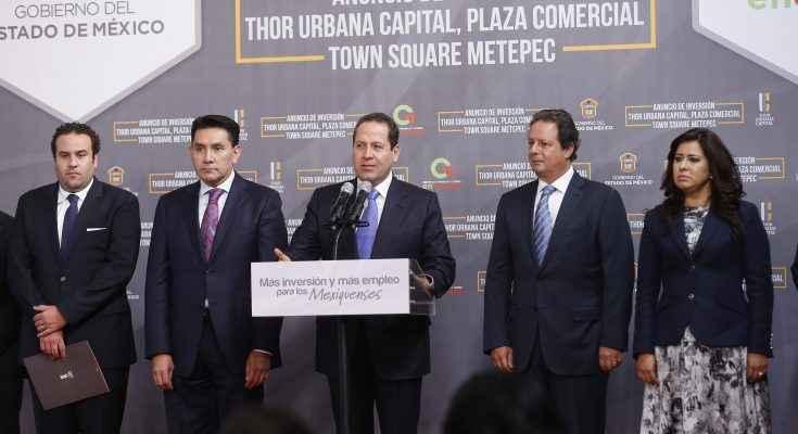 Thor Urbana Capital construirá dos centros comerciales en el Edomex