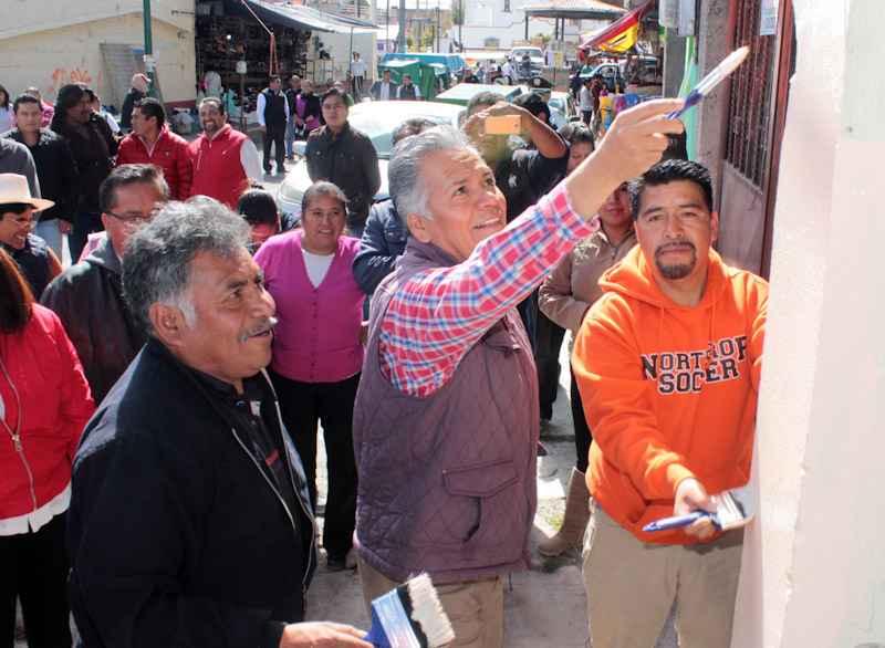 Trabajan en mejoramiento urbano de Toluca