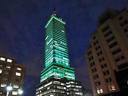 Celebra la Torre Latinoamericana su 60 aniversario