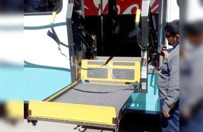 Transporte público adaptará rampa para discapacitados