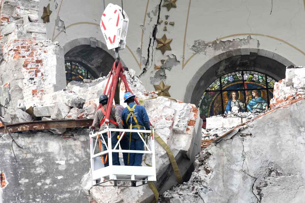 Tras sismos, 450 inmuebles históricos han sido restaurados en su totalidad