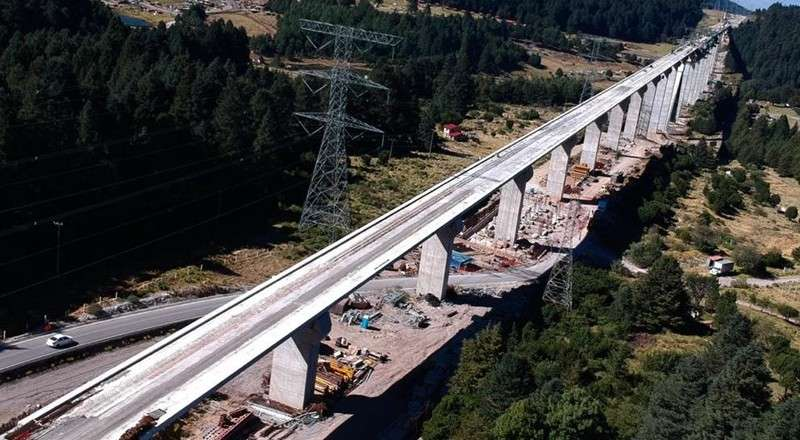 Tren Interurbano México-Toluca tiene avance del 87%: SCT