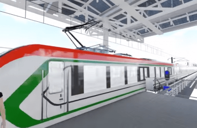 Tren Interurbano México-Toluca, alternativa de transporte