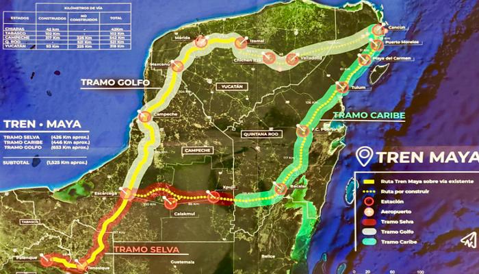 Tren Maya estaría listo en cuatro años: AMLO