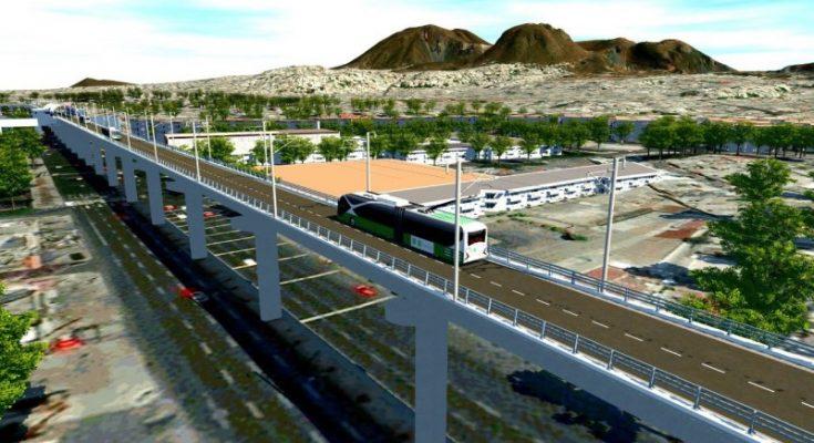Trolebús elevado comenzará a operar en diciembre de 2020